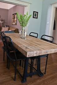 industrial kitchen table this looks like the kind of table i need my boys could not destroy it it looks super solid