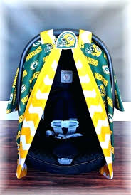 green bay packers seat covers green bay packers seat covers packers car seat canopy car seat