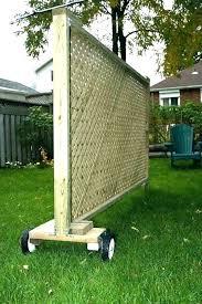 freestanding garden privacy screen outdoor patio ideas wall panels the best pr