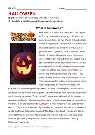 is halloween reading grammar practice what is halloween reading grammar practice
