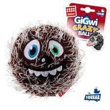 Купить со скидкой <b>Игрушка GiGwi</b> для собак Crazy <b>Ball</b> Мяч с ...