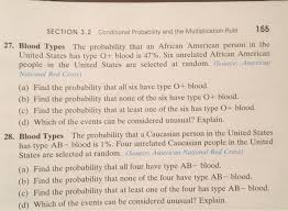 Types Of Probability Solved Section 3 2 Conditional Probability And The Multip
