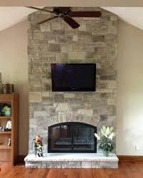 fireplace stone facing fireplace facing designs fancy fireplace stone veneer by north star stone in cobble