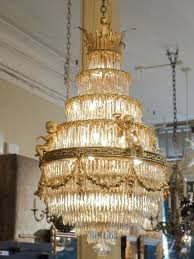 crystal waterfall chandeliers