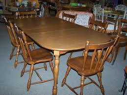 dining room chairs used. 28 Maple Dining Room Sets 4267 Butterfly Leaf Chairs Used B