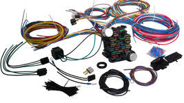 ez wiring 12 circuit standard panel wiring and 24 similar items Engine Wiring Harness ford truck wiring harness 53 56 street rod pickup universal wire kit f10