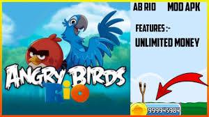 AB RIO ( ANGRY BIRDS RIO ) MOD APK || UNLIMITED MONEY