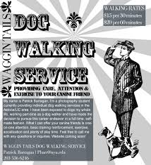 dog walking advertising welcome to the waggin tails website waggin tails dog walking service