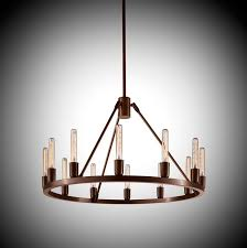 celebrate the simple beauty of the light bulb with the spark 24 modern chandelier