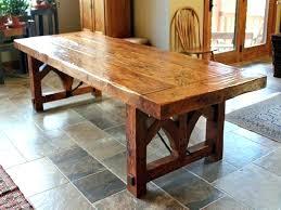 distressed wood dining table set rustic dining chairs rustic dining room table set brown varnishes teak