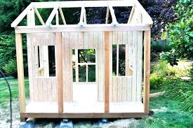 how to build a playhouse simple plans free elevated with sandbox easy loft h diy