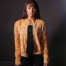 vivo women leather jacket