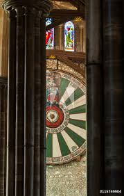 photo art print king arthur s round table in winchester great hall uk abposters com