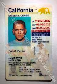 Id Maker Vertical California Fake Card Id-chief