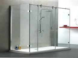 glass shower door rollers sliding shower door roller and bracket set and sliding shower door roller