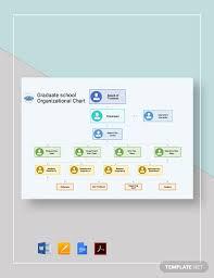 School Organizational Chart Template Graduate School Organizational Chart Template Word