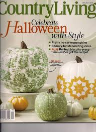 october issue country living