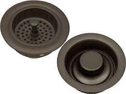oil rubbed bronze sink drain. Modren Bronze Oil Rubbed Bronze Kitchen Sink Strainer Drain U0026 Stopper And Amazoncom