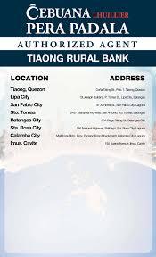 Pera Padala Send Or Transfer Money Philippines Cebuana
