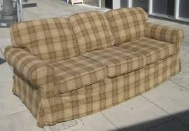 plaid couch free country sofas country sofas and couches