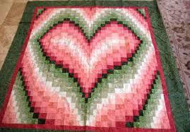 heart quilt | Carla Barrett & ... bargello heart quilt: I ... Adamdwight.com