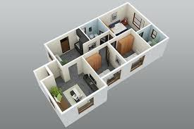 3d 3 bedroom house plans 2 bedroom house plans designs diagonal 3
