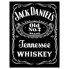 Jack Daniels Logo Black Vector | Free Vector Silhouette Graphics AI ...