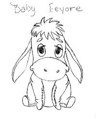 coloring page baby coloring pages baby coloring page pic baby disney eeyore coloring pages coloring page