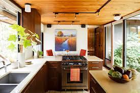 Interior: Mid Century Modern Kitchen Design Ideas With Wood ...