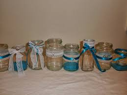 Decorating Jelly Jars Emmity's Craft Room Decorated Jam Jars for flowers or tea light 42