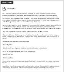 Resume Profile Summary Awesome 3419 Resume Profile Summary Musiccityspiritsandcocktail