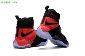 lebron shoes 2017. 2017 original new nike lebron soldier 10 mens basketball shoes black red lebron