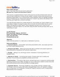 How To List Skills On A Resume Gorgeous List Of Skills And Abilities For Resume Precious Skills To List A