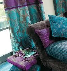 Nice Holistic Home: Purple Turquoise Textile Set