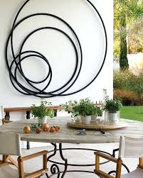 contemporary metal wall art decor large flower mirrors