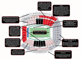 Judgmental Seating Chart Of Ugas Sanford Stadium