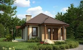 just starting out a two room house is the idyllic embodiment of a living space of course this option also matches the needs of an elderly couple who
