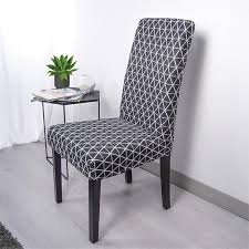black dining chair covers. Dining Chair Covers Black G
