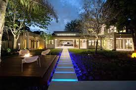 Hướng dẫn thiết kế ánh sáng đèn LED cho sân vườn hợp phong thủy đẹp mắt nhất