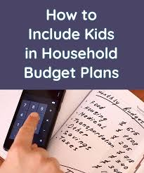 How To Include Kids In Household Budget Plans Homey App For Families