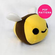 Plush Pattern Mesmerizing Plushie Pattern Plush Bumble Bee Sewing From Plush Pattern Shop