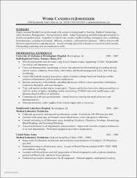 Resume Examples For Medical Assistant Jobs Fresh Example Good Resume