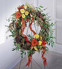 flourishing garden. The Flourishing Garden Wreath
