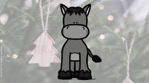 The little donkey is crying. Traditional Christmas Song El Burrito Sabanero Funforspanishteachers
