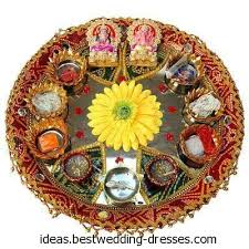 Mehndi Tray Decoration Mehndi TrayThaal Decorations 28