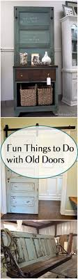 things to do with old doors diy door projects repurpose projects por pin