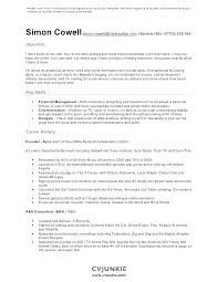 Does Word Have A Resume Template Custom Musical Resume Template Baycabling
