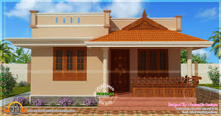 Extraordinary Small Home Design In Kerala Endearing House Single