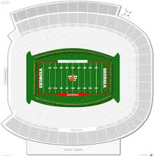 Sanford Stadium Georgia Seating Guide Rateyourseats Com