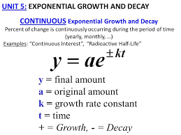 1 unit 5 exponential growth and